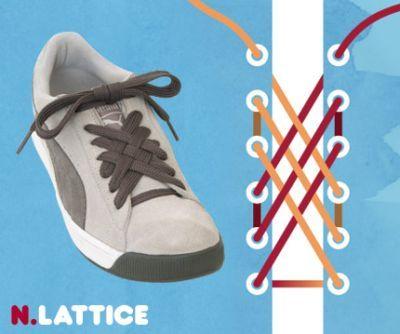excelentes maneras de usar cordones para los zapatos tennis :D 006
