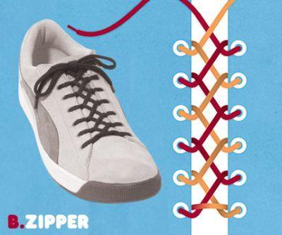excelentes maneras de usar cordones para los zapatos tennis :D 008