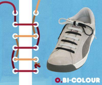 excelentes maneras de usar cordones para los zapatos tennis :D 007