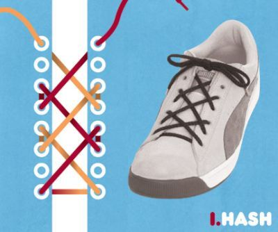 excelentes maneras de usar cordones para los zapatos tennis :D 015
