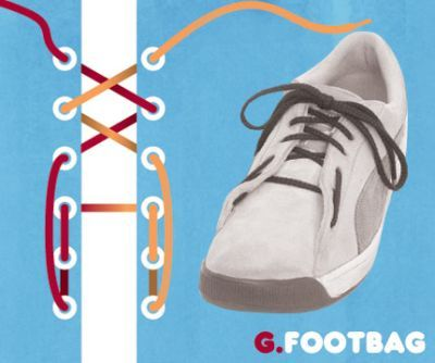 excelentes maneras de usar cordones para los zapatos tennis :D 013