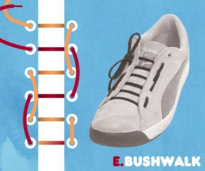 excelentes maneras de usar cordones para los zapatos tennis :D 011