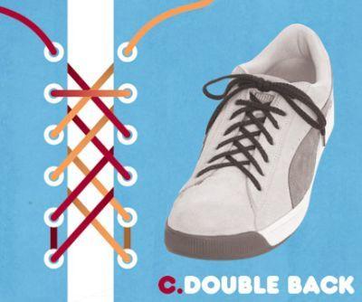 excelentes maneras de usar cordones para los zapatos tennis :D 009