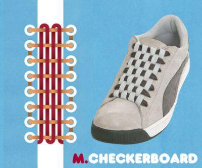 excelentes maneras de usar cordones para los zapatos tennis :D 005