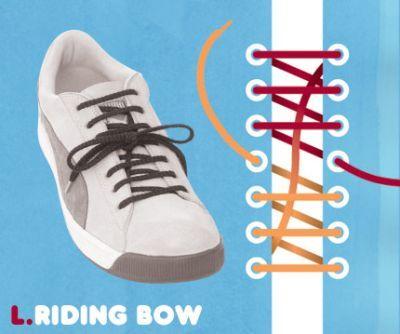 excelentes maneras de usar cordones para los zapatos tennis :D 004