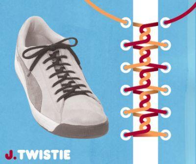 excelentes maneras de usar cordones para los zapatos tennis :D 002