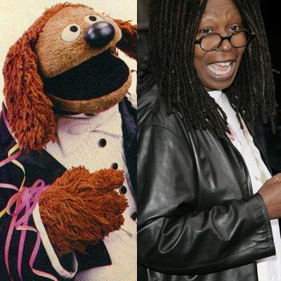 fotos extrañas de internet Muppets_Celebrities_14