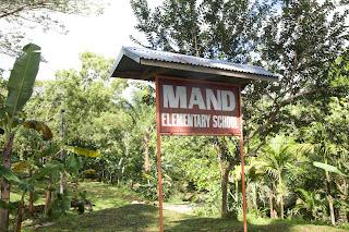 Mand School sign