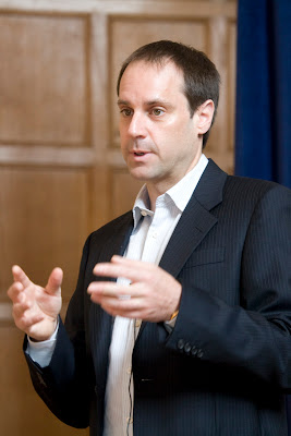 Jeff Skoll, speaking