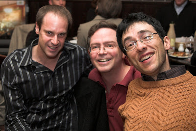 Jeff Skoll, Jim Fruchterman and Taddy Blecher