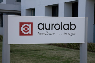 Aurolab building sign