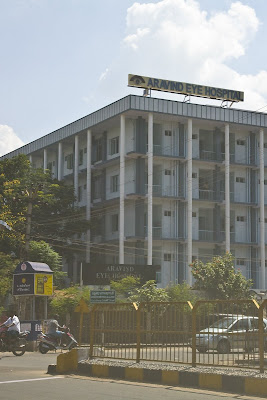 Street view of Aravind Eye Hospital