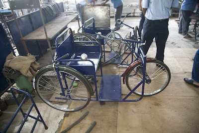 New tricycle in plant