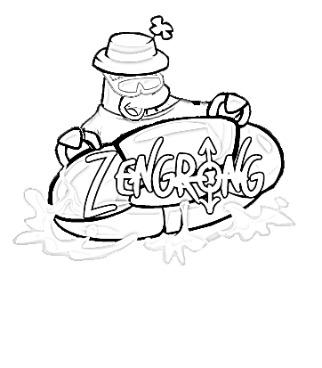 Club Penguin Moon: Colouring Pages