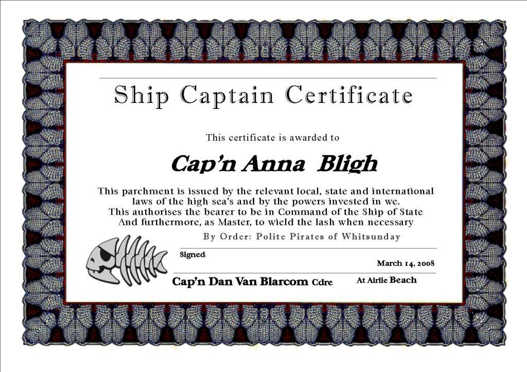 """Cap""""n Anna Bligh"""