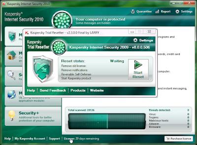 Kaspersky trial resetter 2010 free download