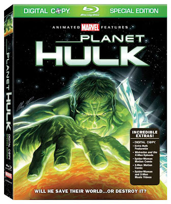 Idle Hands: Planet Hulk Blu-ray Review