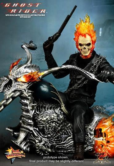 Idle Hands Hot Toys Releasing 12 Inch Ghost Rider