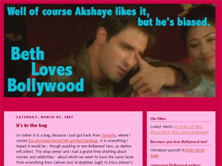 Beth Loves Bollywood