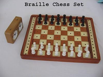 Sifu Mycatur Braille Chess Set From Malaysia