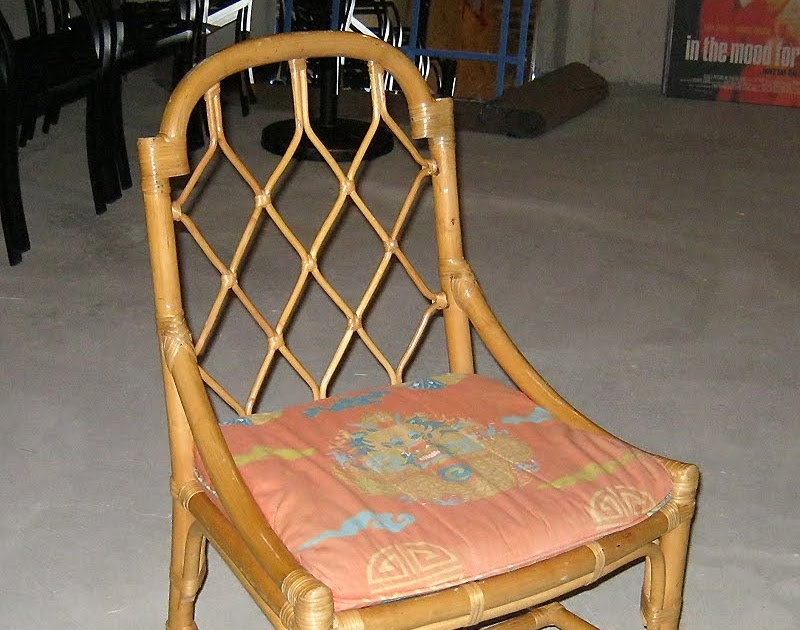 Am Dolce Vita Bamboo Chippendale Chinoiserie Chairs