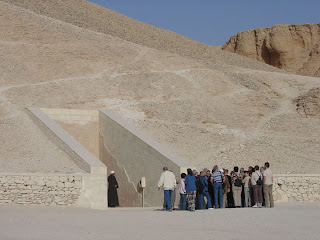 Valley of the Kings : one of the largest areas of archaeological excavations