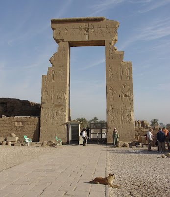 Egypt History: Dendera north of Luxor