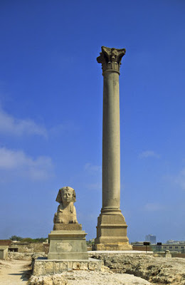 History of Pharaonic Egypt: The Memorial Of Diocletian - Pompey's Pillar
