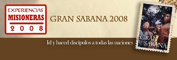 Experiencia Misionera La Gran Sabana 2008