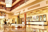 Beautiful lobby hotel