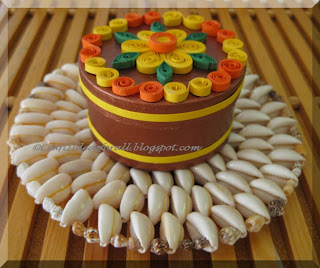 Craft Ideas For All Paper Quilled Jewellery Box Keepsake Box