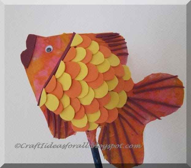 Craft Ideas For All Paper Mache And Foam Sheet Fish