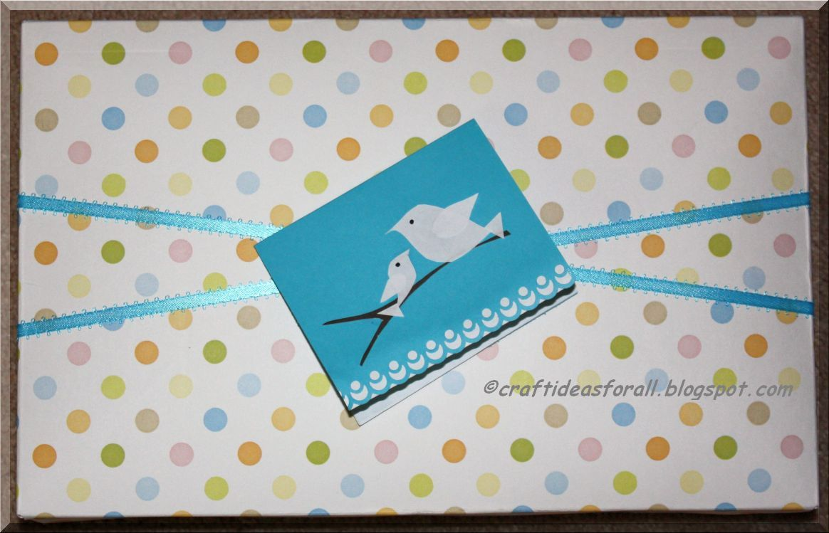 Craft Ideas For All Gift Wrapping And Gift Card For Baby Shower
