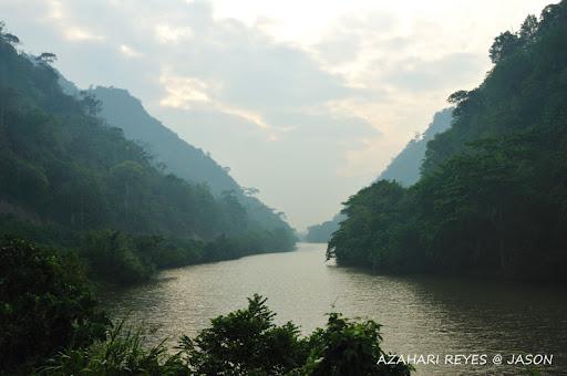 美丽的Padas river