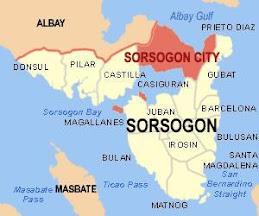 Sorsogon Map
