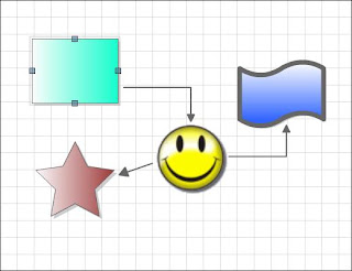 Image of my beautiful concept map, created in DrawAnywhere