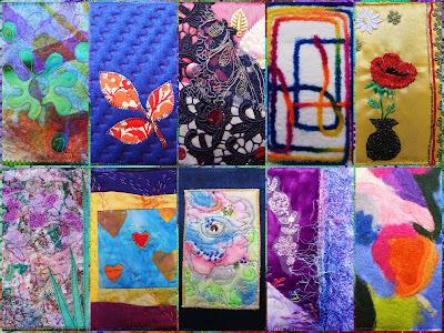 carduri textile primite de ziua mea