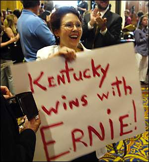 Kentucky Wins with Ernie