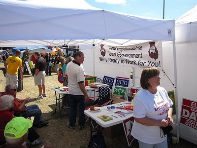 2010 Lanesville Heritage Weekend Booth