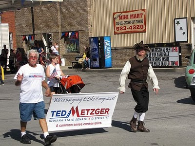2010 Milltown Parade, Ted Metzger for State Senate District 47