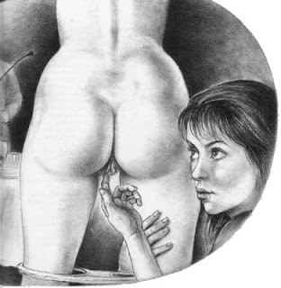 Were paula meadows spanking drawings fantasy