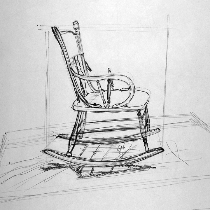 Byuh Drawing Rocking Chair Drawing