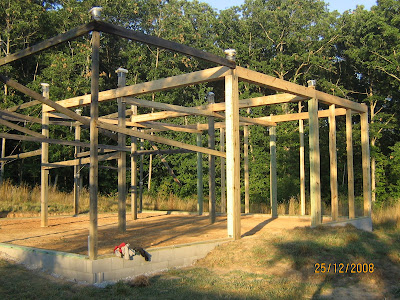 HOMESTEADING IN TENNESSEE: The Modified Post and Beam Frame