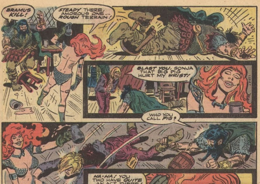 Red Sonja: She Devil with a Sword: Smile of a She-Demon