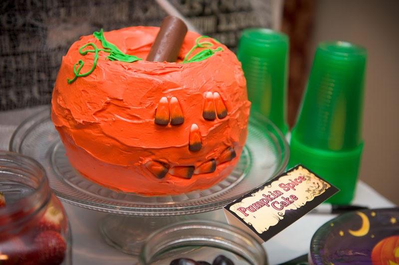 Jack O Lantern Cake Bundt Pan