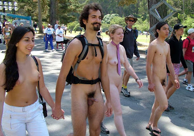 cfnm bay to breakers nude