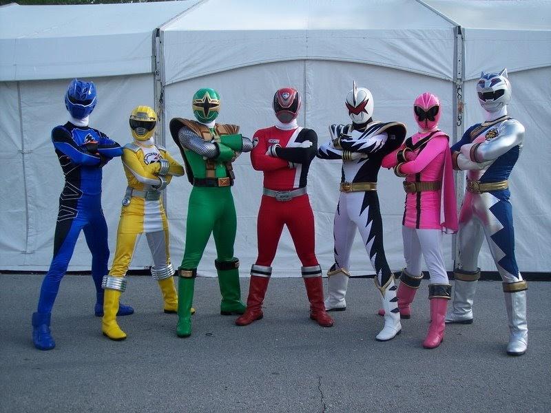 Part Dino Thunder Power 1 Ninja Rangers Storm