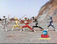 Henshin Grid: Mighty Morphin Power Rangers 2010 - Different