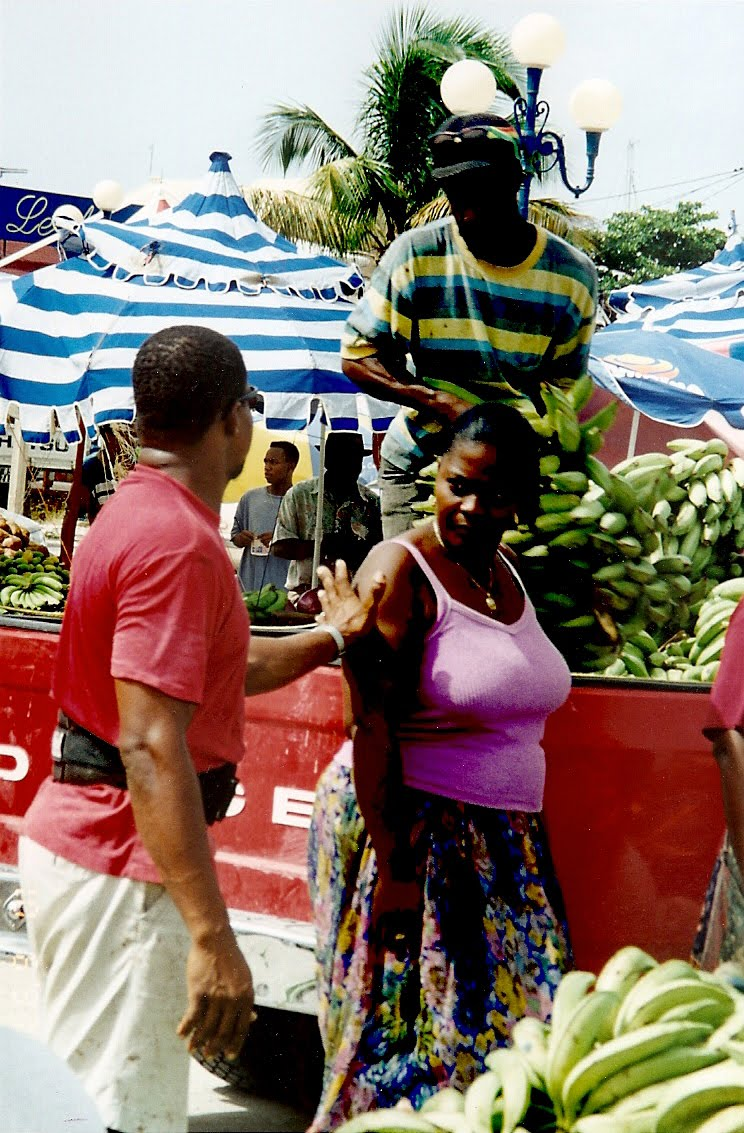 Collage Whirl: West Indian Market