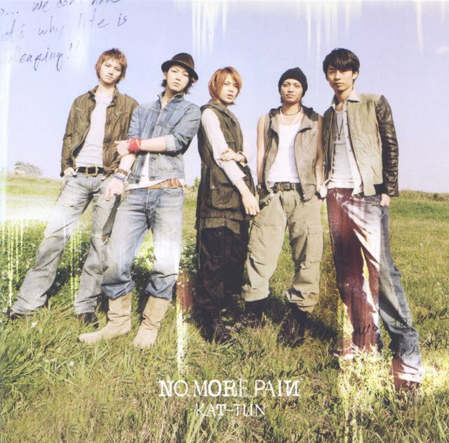 Cover World Mania: Kat-Tun-No More Pain Official Album Cover!
